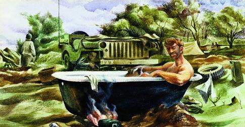 Reep Edward. Ванна в полевых условиях.