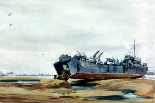 Standley Harrison. Десантный корабль.