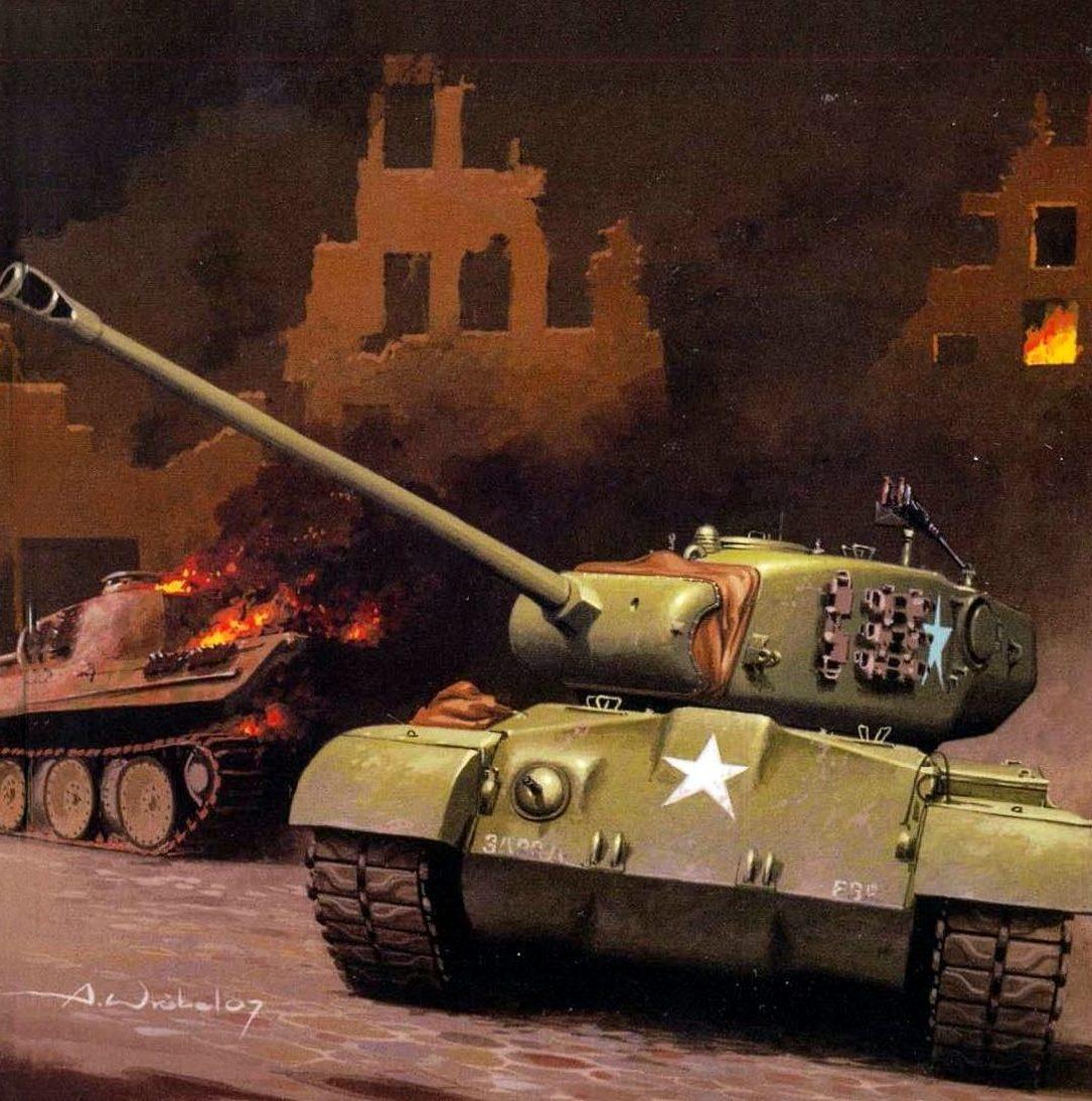 Wróbel Arkadiusz. Танк T-26E3.