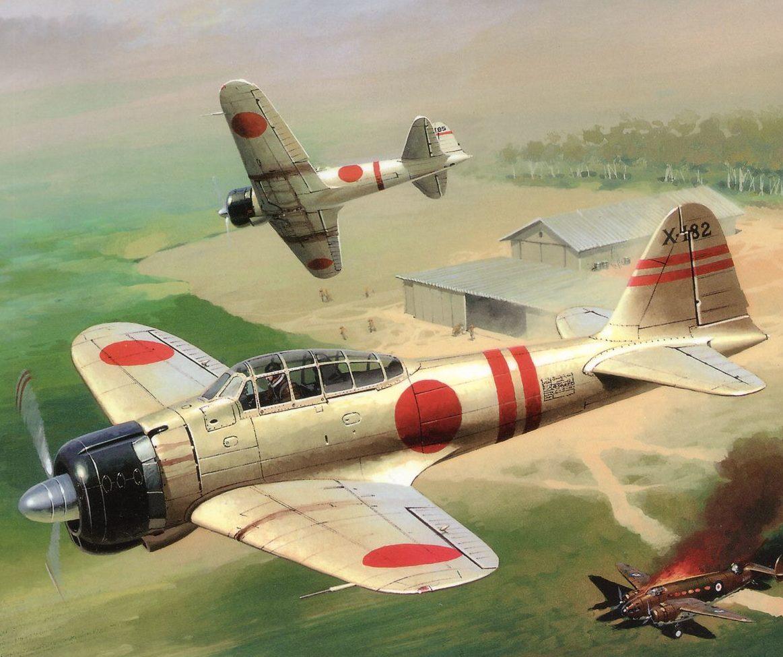 Wrobel Jaroslaw. Истребитель «Zero».