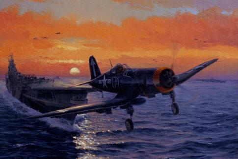 Allison Richard. Палубный истребитель «Corsair».