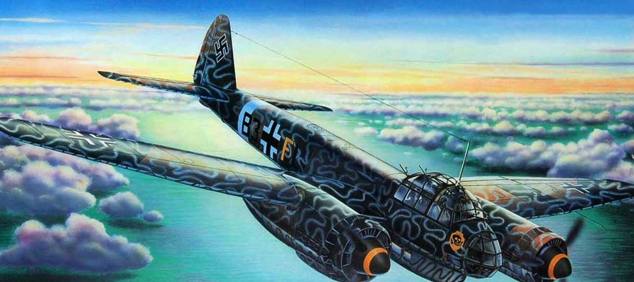 Davison Dennis. Бомбардировщик Junkers 88 A4.