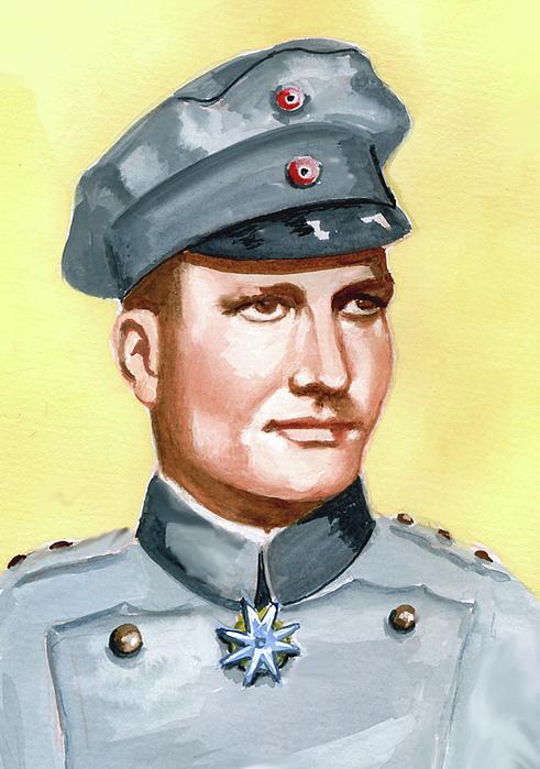 McLeod Murray. Пилот Manfred von Richtofen.
