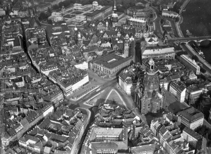 Дрезден. 1940-1945 гг.