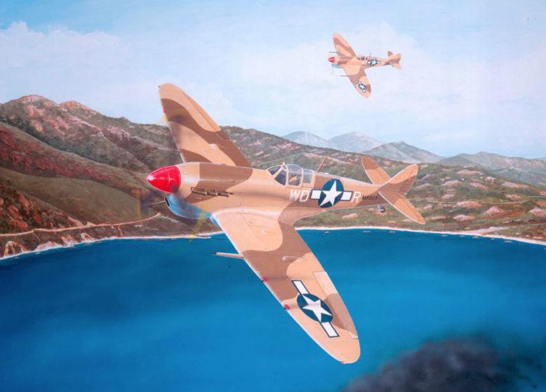 Lyons Sam. Истребители Spitfire.