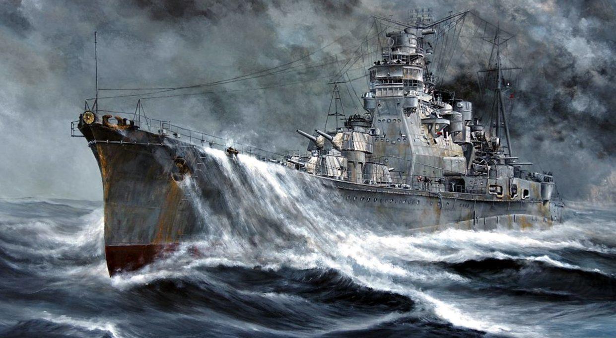 Kasperczyk Lukasz. Тяжелый крейсер «Takao».