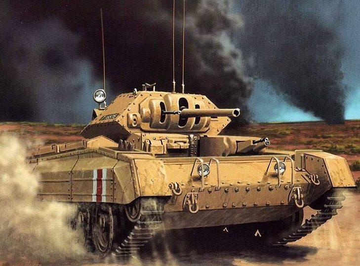 Wróbel Arkadiusz. Танк Crusader.