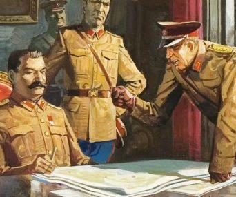 Baraldi Severino. Сталин и Жуков.