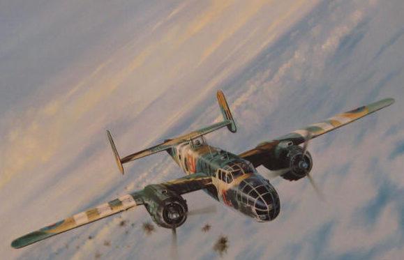 Bailey Robert. Бомбардировщик В-25.