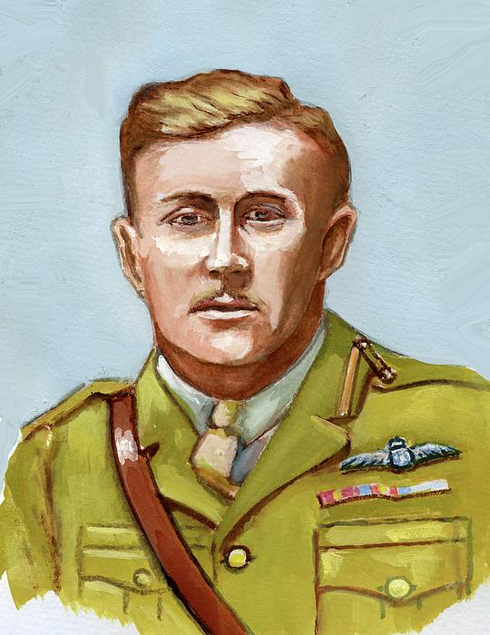 McLeod Murray. Лейтенант William Bishop.