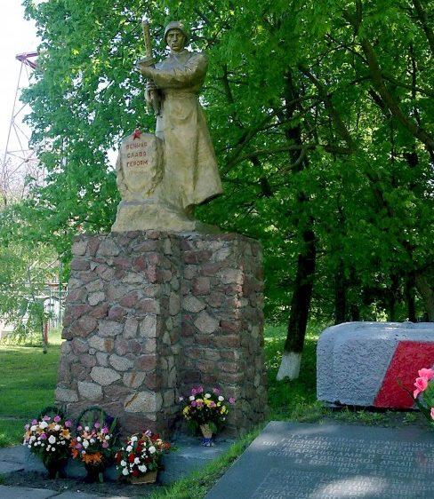 пгт. Згуровка. Памятник погибшим воинам.