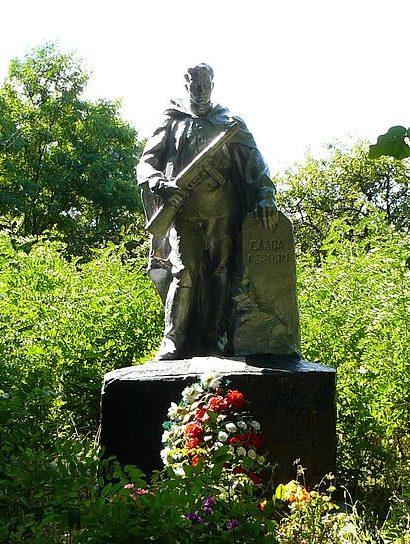 с. Строевка Макаровского р-на. Памятник воинам, погибшим в Великой Отечественной войне.