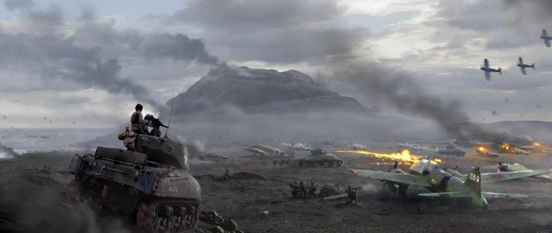 Hall Matt. Танковая атака на аэродром.
