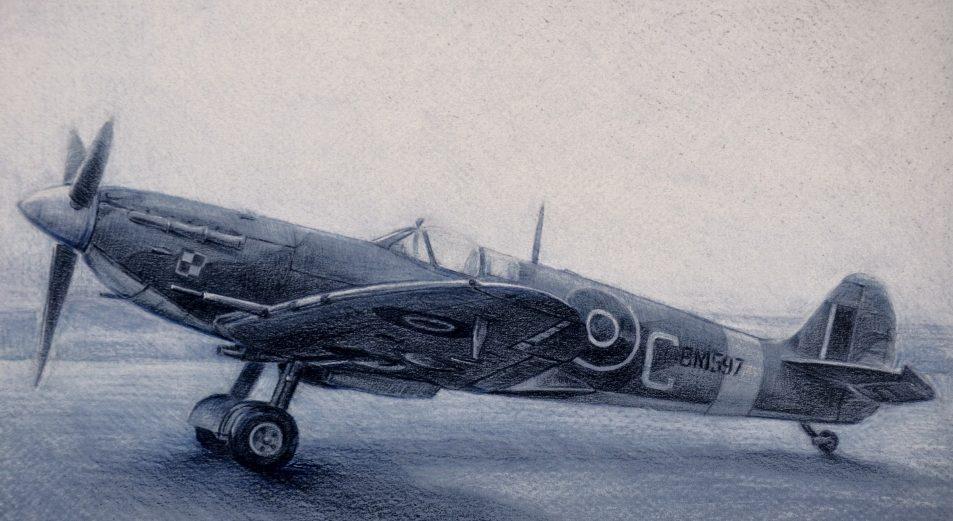 Deredos Andrzej. Истребитель Spitfire Mk.V.