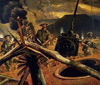 «Линия Гитлера» глазами канадского художника Comfort Charles.