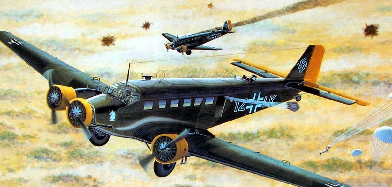 Davison Dennis. Военно-транспортный самолет Junkers 52.