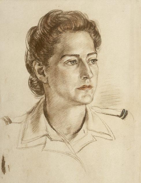 Heysen Nora. Офицер Hilda Barnes.