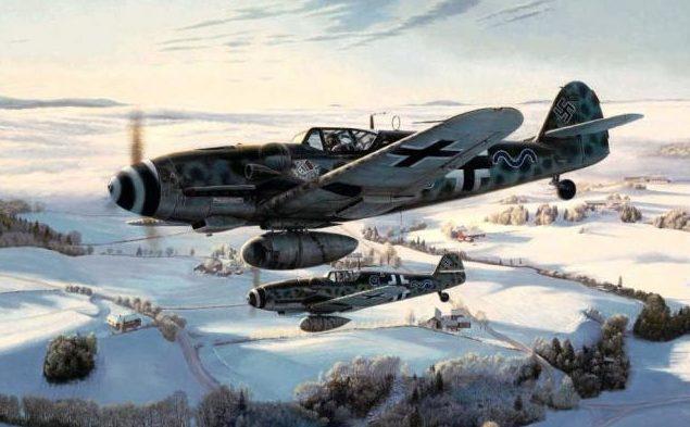 Spicer Barry. Истребители Bf-109 на юге Норвегии.