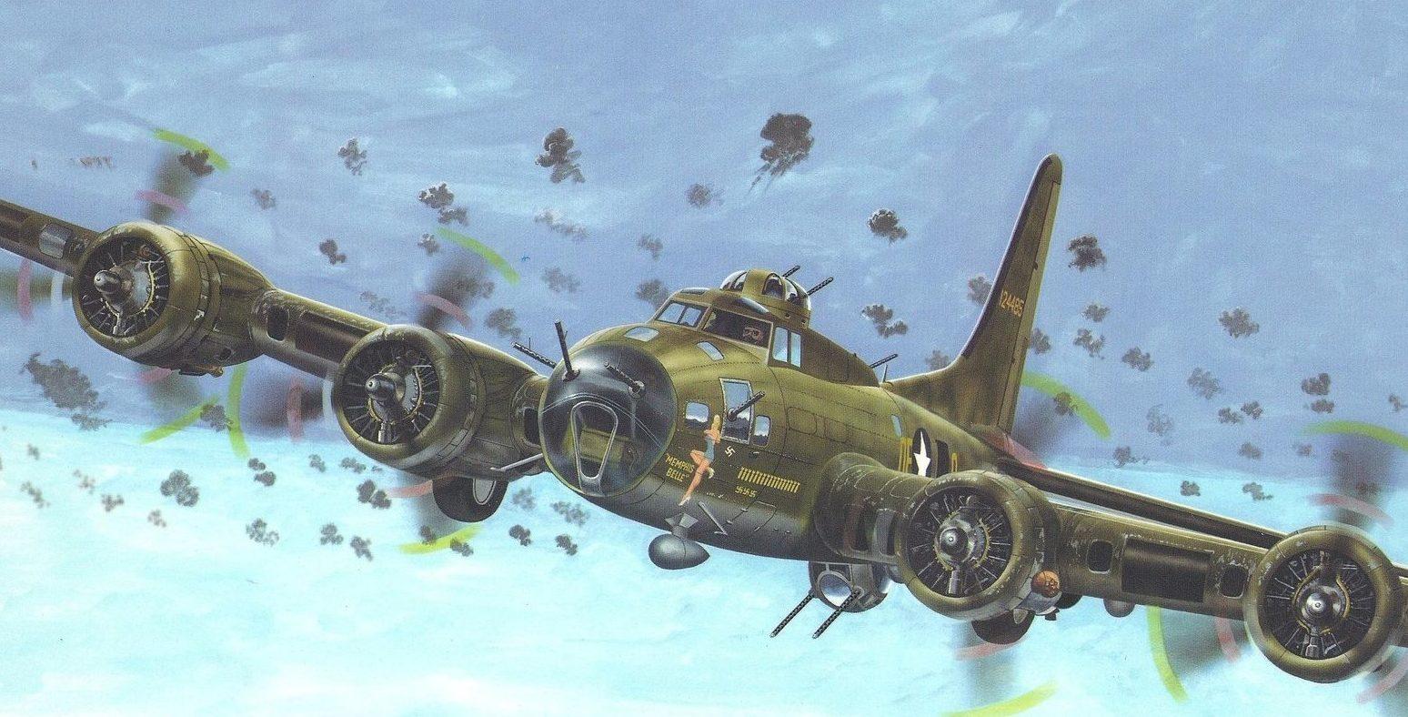 Greer Don. Бомбардировщик B-17.