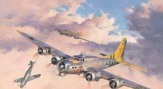 Grinell Roy. Бомбардировщики В-17.