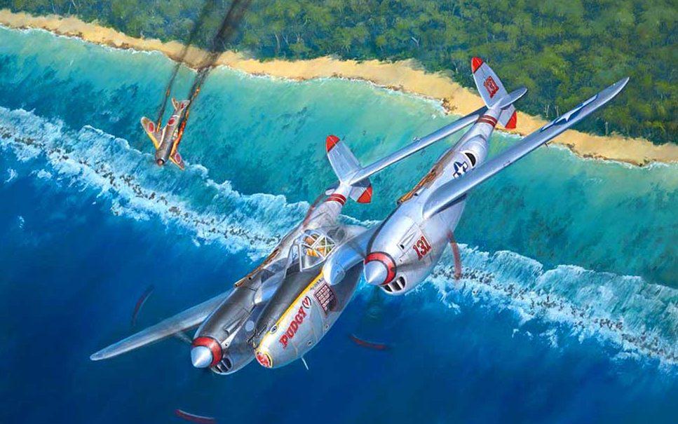 Weber Kevin. Истребитель P-38.