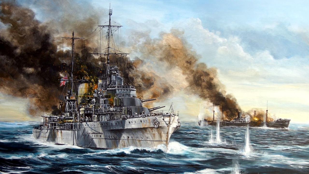 Kasperczyk Lukasz. Легкий крейсер «Sydney».