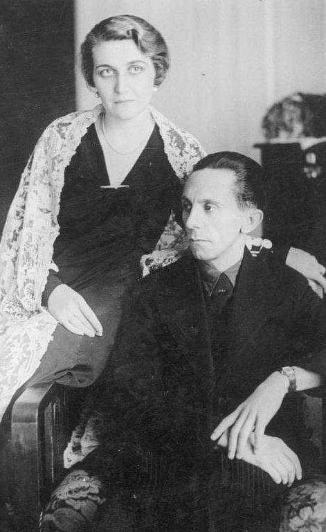 Магда и Йозеф Геббельс.