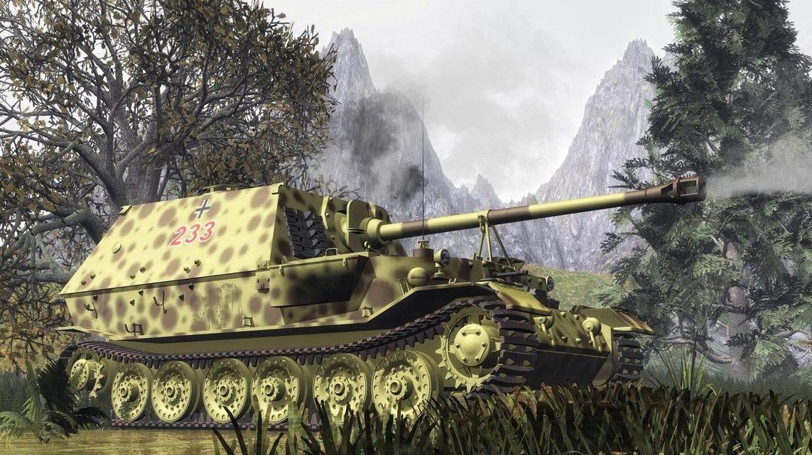 Bulczynki Arnold. САУ СУ-85.