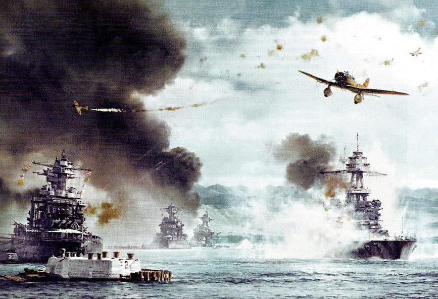Freeman Tom. Налет на Pearl Harbor.