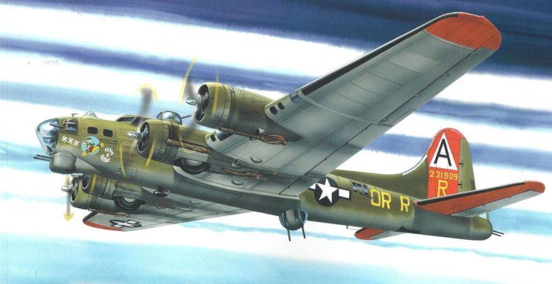 Greer Don. Бомбардировщик B-17G.