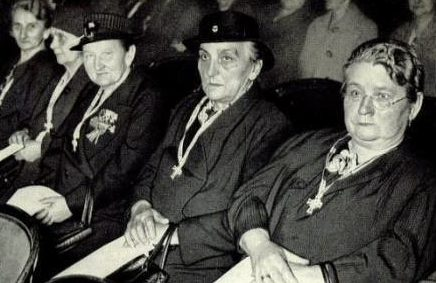 Торжественное вручении Почетного креста немецкой матери. Берлин, 05.17.1943 г.