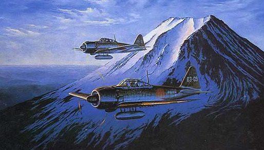 Buckland Ross. Истребители A-6M5-2C.