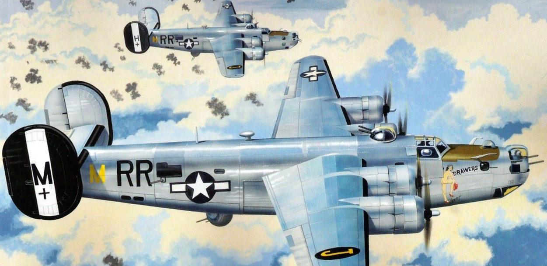Greer Don. Бомбардировщик B-24J Liberator.