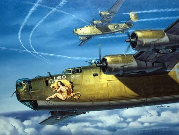 Grinell Roy. Бомбардировщик В-24.
