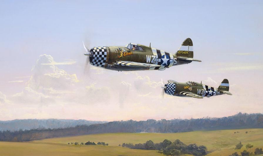 Weber Kevin. Истребитель P-47.