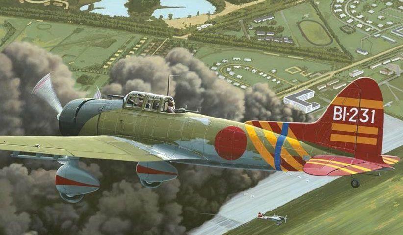 Kolacha Zbigniew. Палубный бомбардировщик Aichi D-3A1.