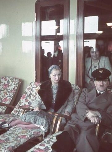 Инга Лей и Гитлер.