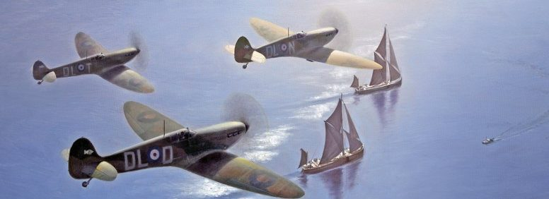 Thompson Charles. Истребитель Supermarine Spitfire.