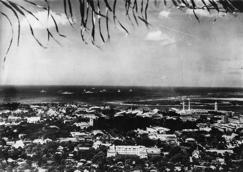 Вид на Перл-Харбор. Октябрь 1941 г.