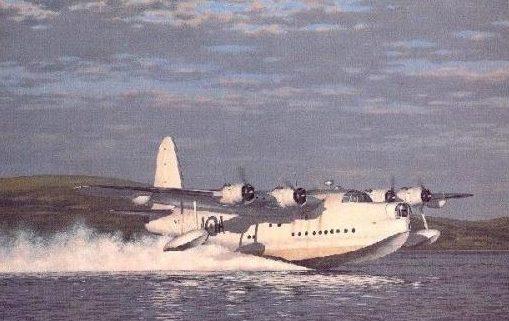 Woodcock Keith. Летающая лодка.