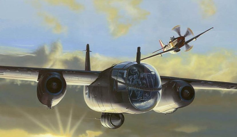 Kolacha Zbigniew. Реактивный бомбардировщик Arado Ar-234.