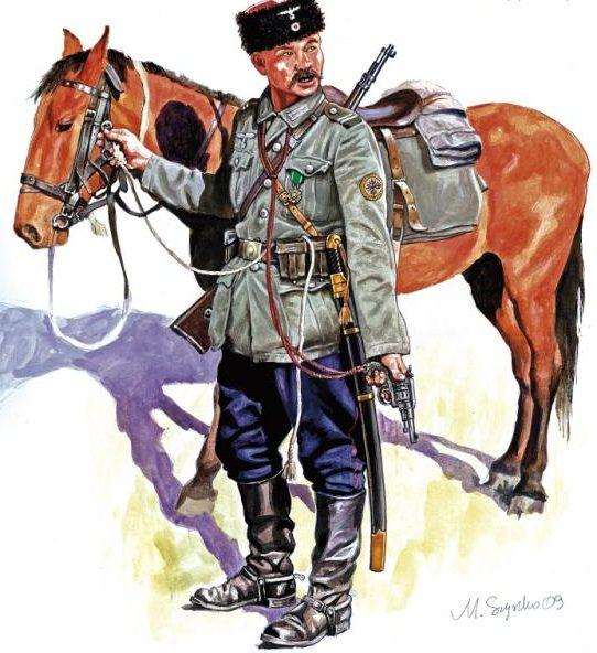 Szyzsko Marek. Немецкий кавалерист.