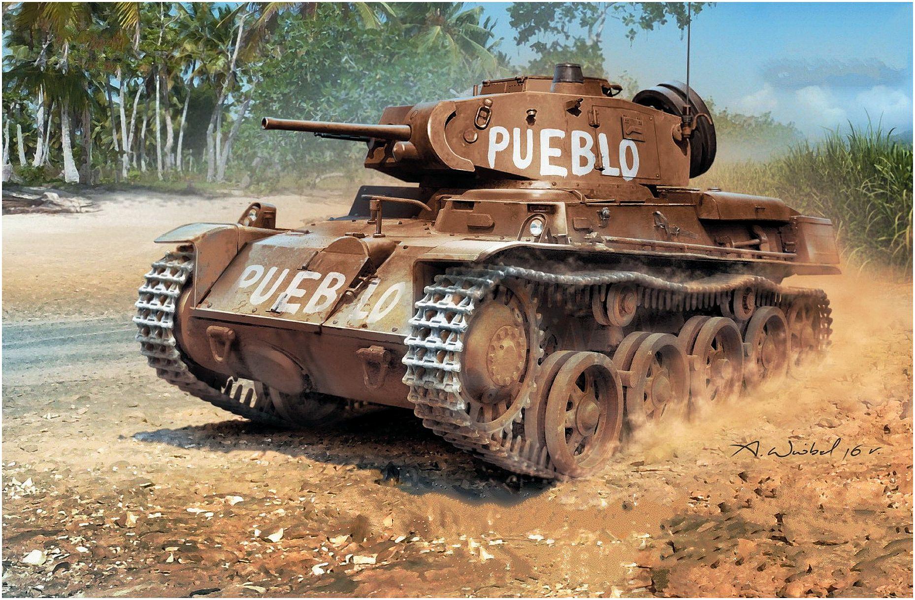 Wróbel Arkadiusz. Танк Stridsvagn M/40L.