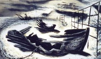 Forster Michael. Обломки на пляже.