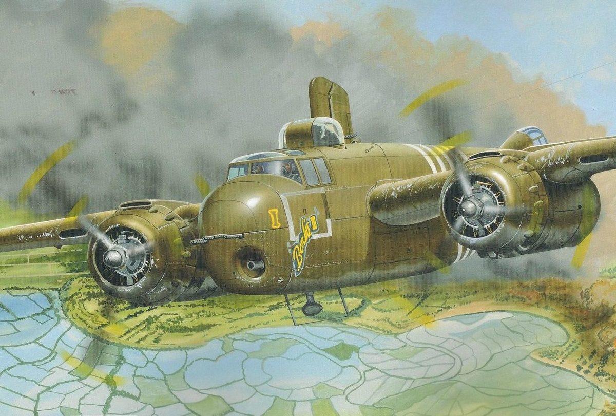 Greer Don. Бомбардировщик B-25 Mitchell.