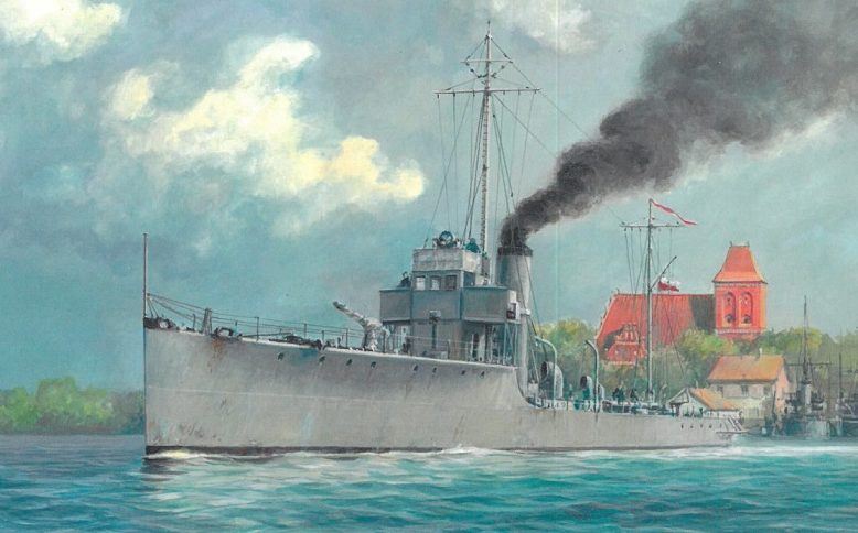 Werka Adam. Учебный корабль « Ślązak».