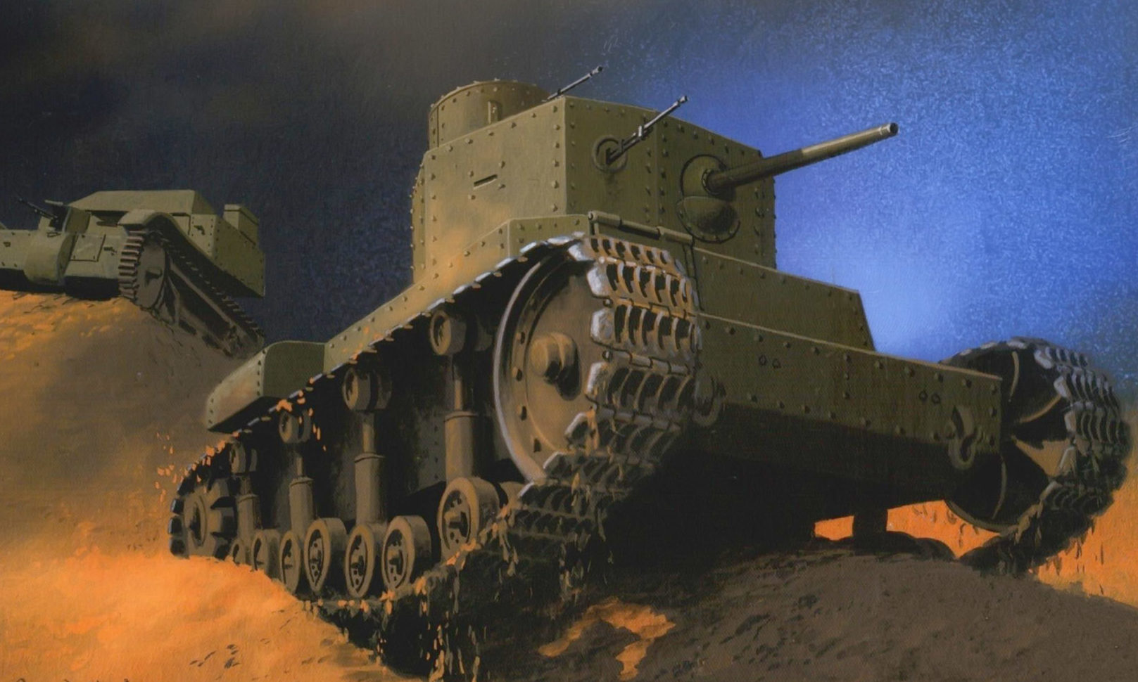 Wróbel Arkadiusz. Танк Т-12.