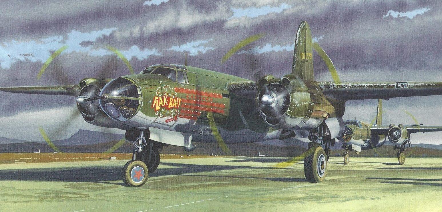 Greer Don. Бомбардировщик B-26 Marauder.