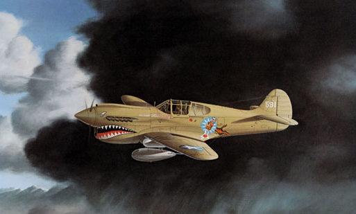 Machat Mike. Истребитель Р-40.