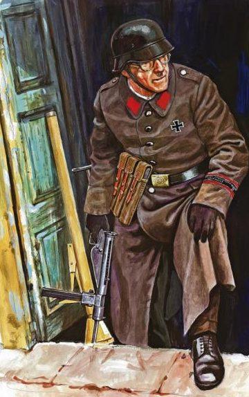 Szyzsko Marek. Солдат Volkssturm.